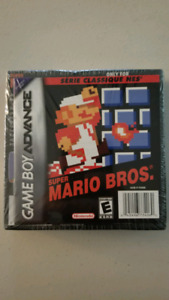 Sealed Super Mario Bros GBA
