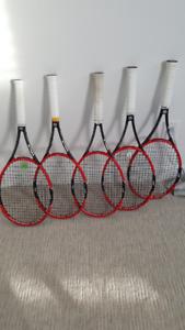 Tennis Racquets - Wilson Pro Staff 97's (Red & Black)