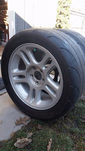 Mickey Thompson ET Streets 275/40/17 with wheels