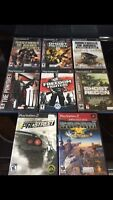 Play station 2 game lot