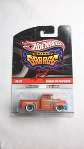 HOT WHEELS WAYNE'S GARAGE CUSTOM 56 FORD TRUCK CHASE DIECAST