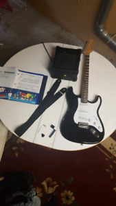 Electric Guitar Package(Stratocaster Style with Amp/ Cord etc