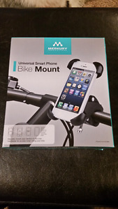 Brand new cell phone mount for bicycle