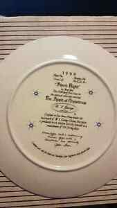 """""""Silent Night"""" The Spirit of Christmas W.S George 1991 Plate Kitchener / Waterloo Kitchener Area image 1"""