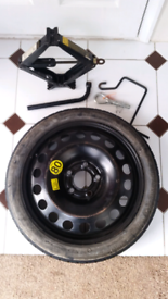SPARE WHEEL AND JACK KIT