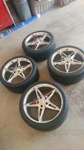 """18""""Foose lusso wheels"""