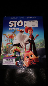 Storks & Secret Life of Pets Blue Ray and DVD