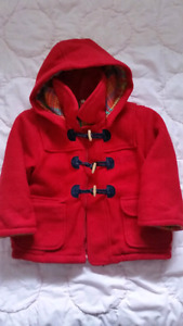 Size 3/4 warm girls dress jacket