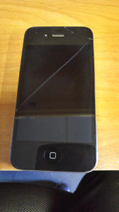 Iphone 4. 8gb with bell
