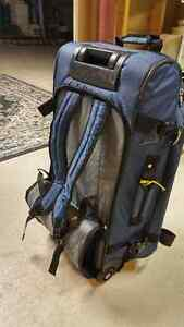 ROOTS Rolling Duffel Bag with Back strap 28""