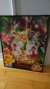 Kids Tinkerbell picture with frame