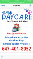 In-Home Daycare/Childcare - Brampton - Mayfield & Chinguacousy
