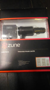 MOVING SALE  Zune Car Pack v2 -  BOX PACKED