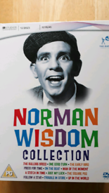 Norman Wisdom box set