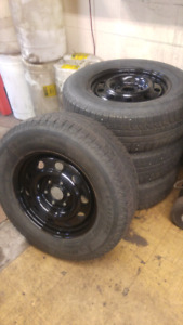 6x132 Rims / 245/70 R17 - Winter Tires