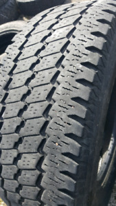 LT265/70/R17 BRIDGESTONE ALL SEASON TIRES