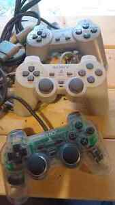 PlayStation, 3 controllers, cords Kitchener / Waterloo Kitchener Area image 2