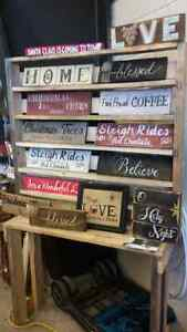 rustic wooden signs Kingston Kingston Area image 1