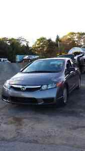 2011 Civic (( LOW KMS)) **New MVI** Call or text 209-9180