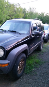 2002 jeep liberty parts or repair still inspected