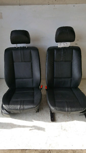 2005 2006 BMW X3 Front Seats real Leather Power memory