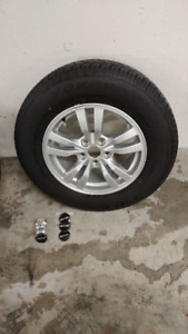 Tires and wheels for SUV