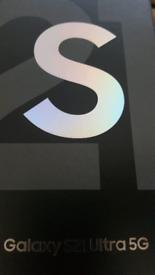 BRAND NEW Samsung S21 Ultra 5G.