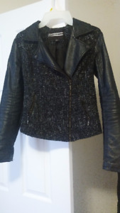 LEATHER COAT SIZE MEDIUM FROM DYNAMITE