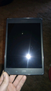 "Samsung galaxy ""A"" 8.5 inch 16 gb tablet like new"
