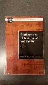 Mathematics of investment and credit 5th edition