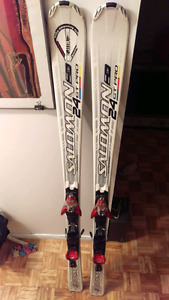 Ski & Bottes ski Alpin Salomon - ajusté
