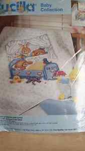 Bucilla baby collection Crib Cover Kit Kitchener / Waterloo Kitchener Area image 1