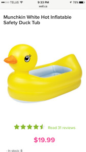 Brand new Duck Tub
