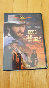 selling a copy of the good the bad and the ugly on dvd