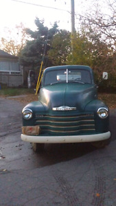 1953 CHEVY 1 TON PICKUP TRUCK. RESTORED