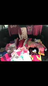 45 pieces of girls clothes 3/4/5 T