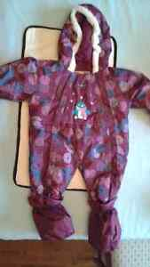 Baby girl Snowsuit 9 months