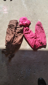 Kids snowpants size 2 and 3