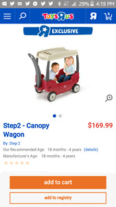 Step2 Wagon with Removable Canopy