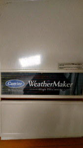 Used Carrier high efficiency furnace
