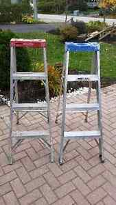2- 4ft LADDER'S $40 FOR BOTH