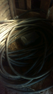 68 meters of 3 conductor #2 teck cable 1000 volt
