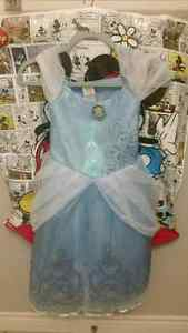 Disney Cinderella Dress, headband and shoes. Size 7/8