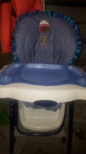 Adjustable fisher price highchair