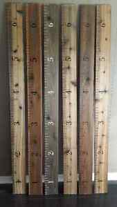 Handcrafted Growth Rulers – A Great Christmas Gift