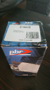 Boxster 986 front brake pads