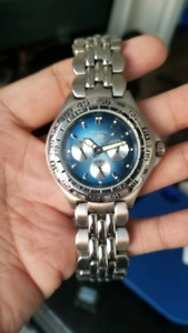 Like New mens Fossil Blues Chronograph watch