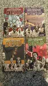 The Walking Dead Volume 1,3,4,5