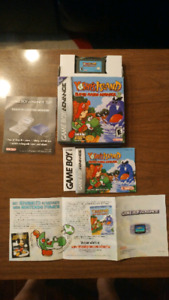 Gameboy advance games complete with box and manuel.