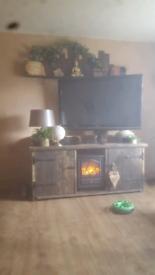 Tv unit radiator/wall shelf
